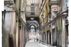 Pasaje de la Paz, Barcelone